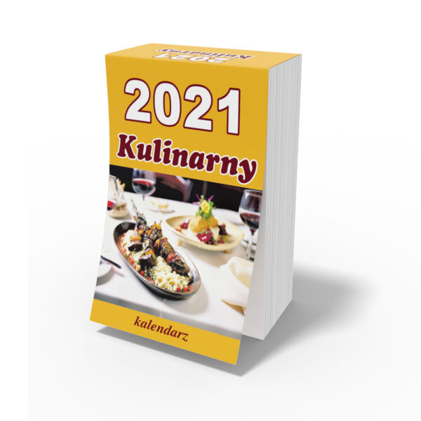 Kalendarz 2021 Zdzierak Kuchnia Polska Polish Calendar